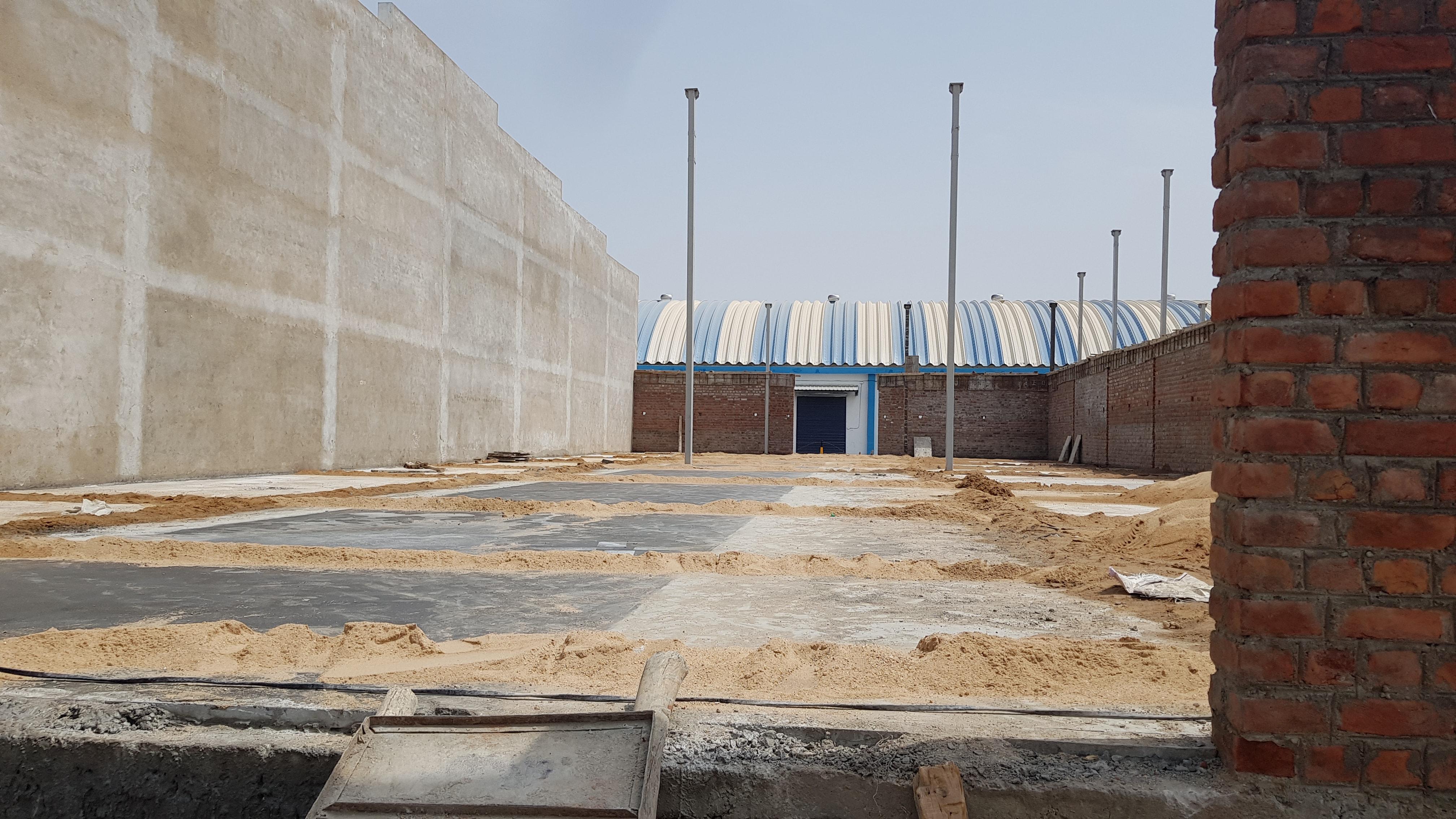 Warehouse for lease at Detroj Kadi